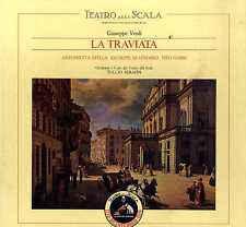 Giuseppe Verdi, Antonietta Stella, Giuseppe di Stefano, Tito Gobbi, Tullio Serafin –  La Traviata