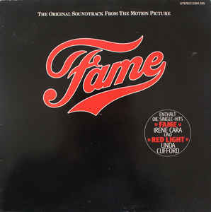 Various –  Fame – Original Soundtrack From The Motion Picture
