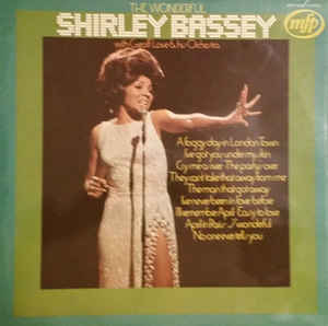 Shirley Bassey With Geoff Love & His Orchestra –  The Wonderful Shirley Bassey