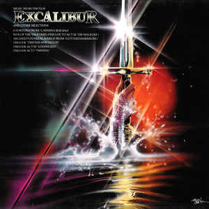 Various –  Music From The Film Excalibur And Other Selections
