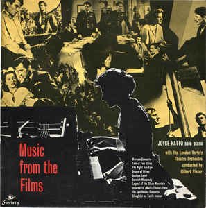 Joyce Hatto With The London Variety Theatre Orchestra Conducted By Gilbert Vinter –  Music From The Films