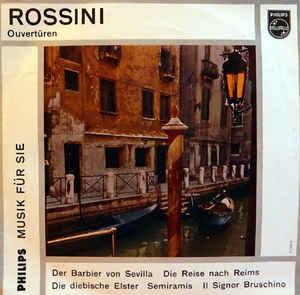 Gioacchino Rossini, Wiener Symphoniker, Francesco Molinari-Pradelli –  Ouvertüren