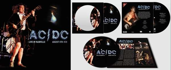 AC/DC – Live In Nashville August 8th 1978 (180g) (Limited-Edition) (Picture Disc)