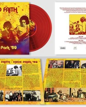 Blind Faith: Hyde Park '69 (180g) (Limited Handnumbered Edition) (Red Vinyl)