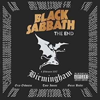 Black Sabbath  The End: Live In Birmingham (180g) (Limited Edition) (Transparent Blue Vinyl)